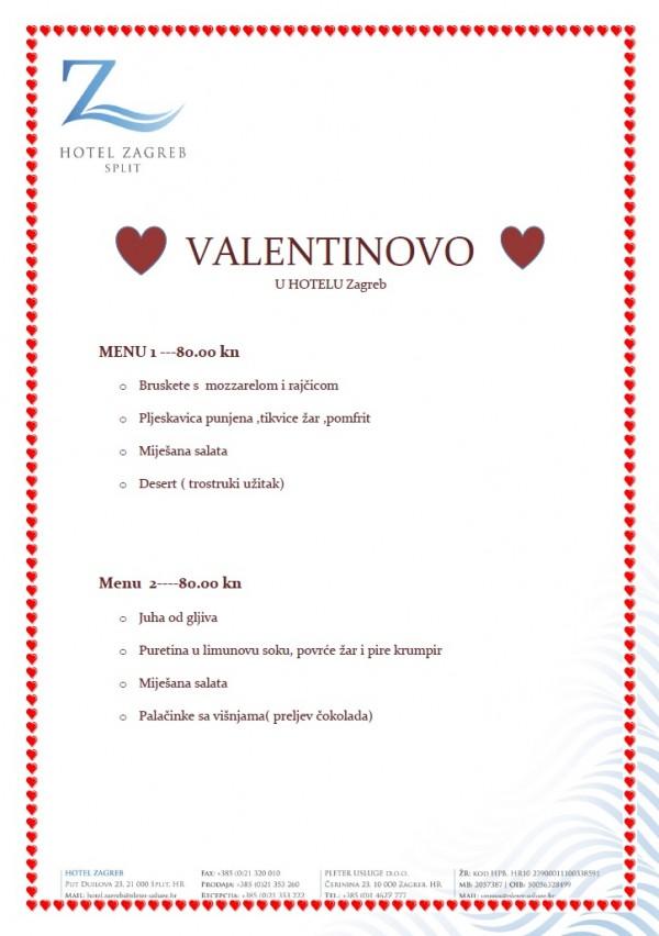 Valentinovo Hotel Zagreb